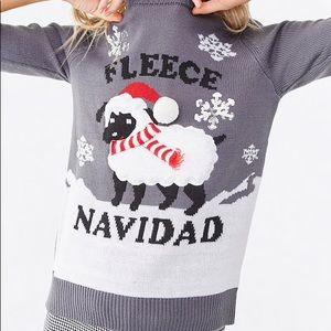 "🌟Super Cute Holiday Sweater ""Fleece Navidad"" 🌟"